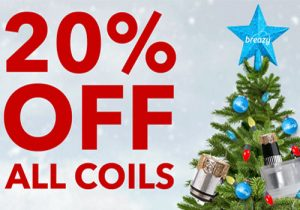 Breazy: 20% Off All Coils | Massive Sale & Extra 15% Off | $9.99 & Under Hardware (USA)