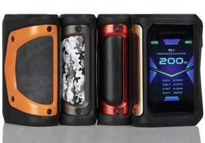 Geekvape Aegis X 200W Waterproof Box Mod $40.49 (USA) | Kit $50.99 (China)