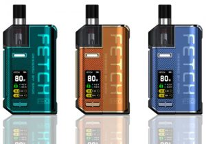 Smok Fetch Pro: 80W/4.3mL VW Pod System $23.90 (USA)