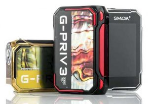Smok G-Priv 3: 230W Touchscreen Box Mod $39.99 | Kit $51.19
