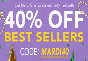Breazy Mardi Gras: 40% Off Best Sellers | E-Liquid For $8.99 | 15% Off Sitewide (USA)