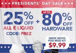 Breazy: 25% Off All E-Liquids | Up To 80% Off Hardware & Extra 15% Off (USA)