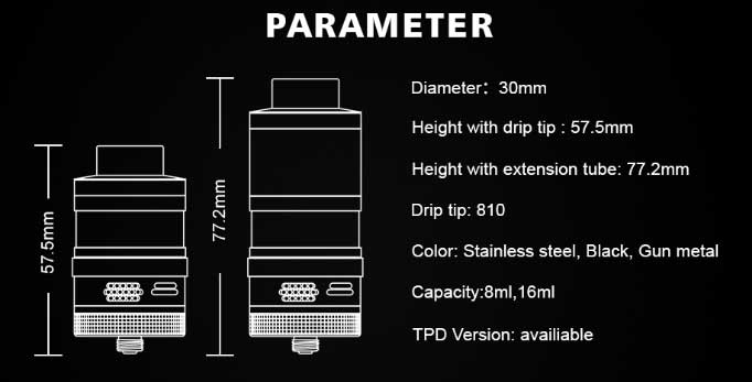 Steam Crave Aromamizer Plus V2 RDTA $29.99 - Cheap Vaping Deals
