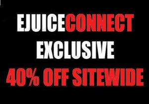 Ejuice Connect: Exclusive 40% Off Sitewide (USA)