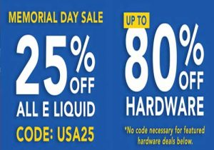 Breazy: 25% Off All E-Liquids | Up To 80% Off Hardware & Extra15% Off (USA)