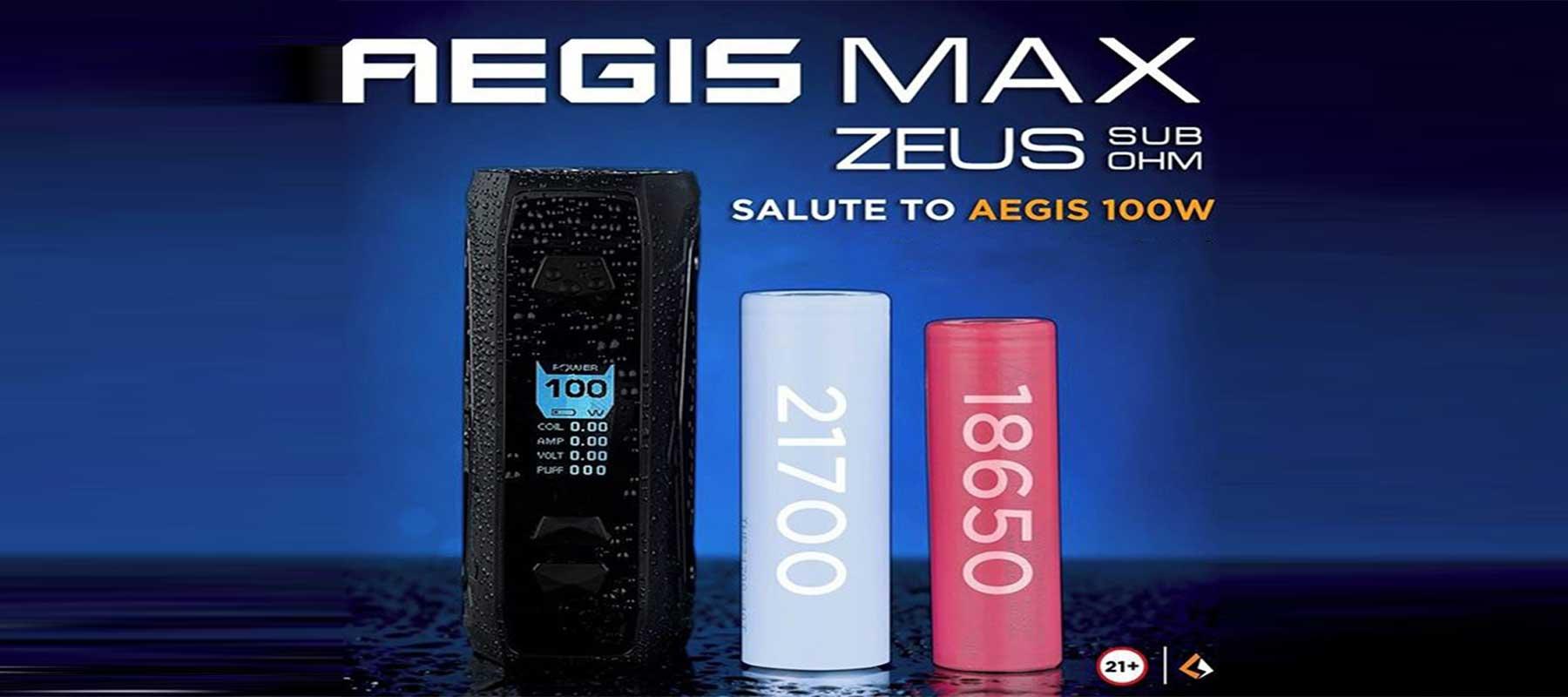 GeekVape Aegis Max Box Mod Kit - Cheap Vaping Deals