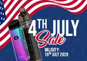 EcigMafia 4th Of July: Massive Clearance | 20% Off Sitewide | 25% Off E-Liquids, Pods & Coils (USA)