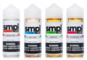 Last Chance! SMPL E-Juice $7.50/120mL | $11.25/240mL (USA)