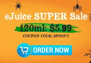 TheSauceLA E-Liquids: $5.99/120mL | $4.99/60mL (USA)