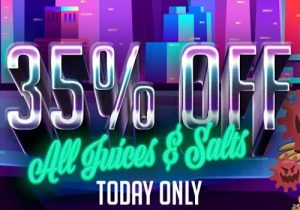 Today Only! EightVape: 35% Off All Vape Juices & Nic Salts   Smok Nord X $24.95