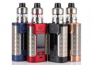 Blowout! Wismec Sinuous FJ200 4600mAh 200W Kit w/ Tank & 5 Extra Coils $9.99 (USA)