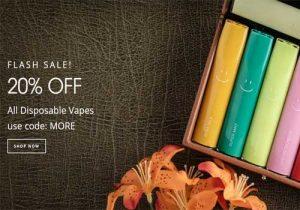 VaporDNA: Extra 20% Off All Disposables (USA)