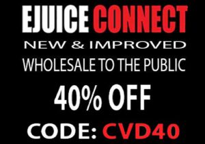 Ejuice Connect: Exclusive 40% Off Sitewide - Absolute Blowout Prices (USA)