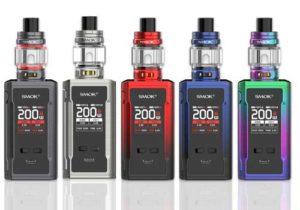Smok R-Kiss 2 200W Mod Kit w/ TFV18 Mini Tank $38.90